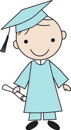 Little grads - Minus Doodle Drawings, Easy Drawings, Doodle Art, Graduation Drawing, Classroom Clipart, Cute Clipart, Stick Figures, Rock Crafts, Applique Patterns