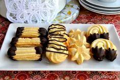 Pastas rizadas con manga pastelera <3