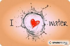 Have a healthy love affair with water for improved health and weight loss #healthyVday