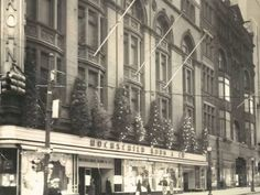 Old Baltimore department stores [Pictures] Baltimore Colts, Baltimore Maryland, Old Pictures, Old Photos, Cumberland Maryland, Romanesque Architecture, Retro Images, City Scene, Ocean City