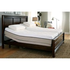 Modern Split King Adjustable Bed With Nightstand And