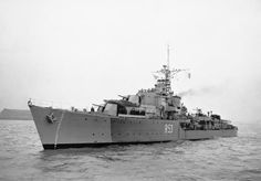 HMS Undaunted (R53) 1944, was a U-class destroyer of the British Royal Navy that saw service during World War II. She was later converted into a Type 15 fast anti-submarine frigate, with the new pennant number F53. After a hasty work up at Scapa Flow, her first action was in the operation to try to sink the German battleship Tirpitz in the Norwegian Altenfjord. She operated in the North Cape area scorting several aircraft carriers