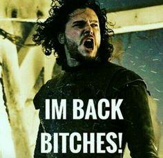 Jon snow fucking yeah