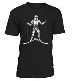 Skiing Stormtrooper