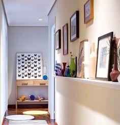 Mejores 27 Imagenes De Decoracion Pasillo En Pinterest Narrow - Decoracion-en-pasillos