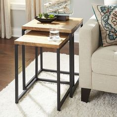 For the family room? Takat Nesting Tables