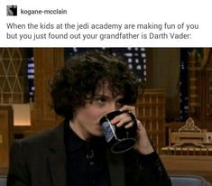 THe funny thing is that people think that Finn Wolfhard should play young Kylo Ren