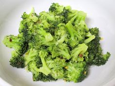 I Believe I Can Fry: Korean Steamed Broccoli (Vegetarian/Vegan)