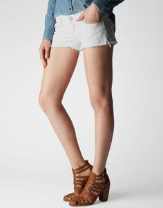 The Joey is a sexier version of our classic Jayde denim short. A thigh high grazing hem gives your gams plenty of exposure to the sun come summer...