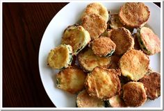 "Low carb ""fried"" zucchini. Made these tonight and they are pretty yummy...especially with a little ranch dressing. Who needs Carl's Jr.?"