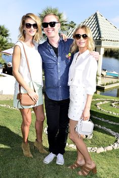 Rosie Huntington-Whiteley in Coach, Stuart Vevers and Kate Bosworth in Coach   - HarpersBAZAAR.com