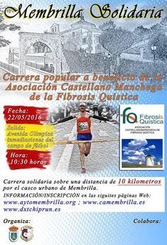 MEMBRILLA - Carrera Solidaria a beneficio de la Asociación Castellano Manchega de la Fibrosis Quistica