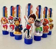 Minion Party, Paw Patrol Party, Puppy Chow, Birthdays, Instagram Posts, Crafts, Oreo, Paw Patrol Decorations, Jelly Beans