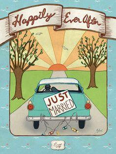 Final newlywed poster in the Sweet Life series. - Marlene Tascarella