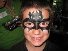 """Toothless Mask from """"How to Train Your Dragon"""" - by Debbie's Doodles"""