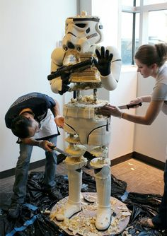 Original Star Wars Cake
