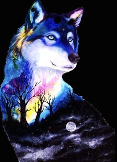 Anime Wolf, Pet Anime, Wolf Wallpaper, Cute Wallpaper Backgrounds, Animal Wallpaper, Wallpapers, Artwork Lobo, Wolf Artwork, Beautiful Wolves
