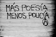 mas poesia menos policia