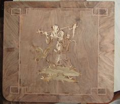 chinoise marquetry after David Roentgen