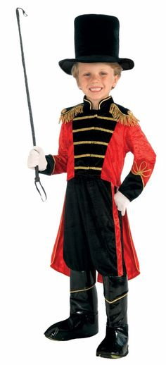 Child's Ring Master Costume - Candy Apple Costumes - Circus Ring Master and Clown Costumes