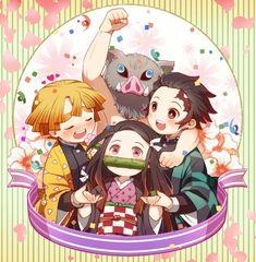 Browse Daily Anime / Manga photos and news and join a community of anime lovers! All Anime, Me Me Me Anime, Manga Anime, Cute Anime Chibi, Anime Kawaii, Demon Slayer, Slayer Anime, Anime City, Natsume Yuujinchou