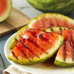spicy grilled watermelon more spicy grilled grilled time things to ...