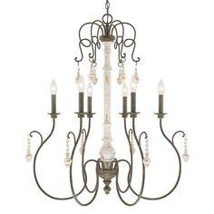6 Light Chandelier | Capital Lighting Fixture Company