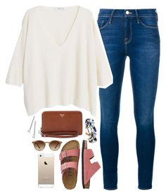 """""""my heart is a valley"""" by hey-its-kylee ❤ liked on Polyvore featuring Frame Denim, TravelSmith, MANGO, FOSSIL, Brooks Brothers, Ray-Ban and Conair"""