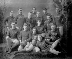 University of Michigan Football Team, 1885 College Football Season, Football Team, Eastern Michigan University, Michigan Wolverines Football, Rugby Sport, Go Blue, Team Photos, Sports Pictures, Ann Arbor