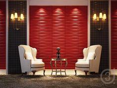 home design ideas - Internal Home Design Tv Set Design, 3d Home Design, Design Salon, House Design, Interior Design, Design Ideas, 3d Wall Panels, Ceiling Panels, 3d Wandplatten