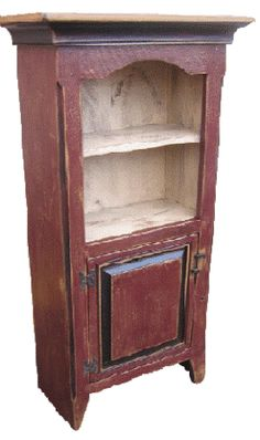 Country Jelly Cupboards | Cabinets & Cupboards-Cabinet-Cupboard-Country Rustic & Primitive Decor ...