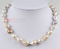 new arrival --- baroque pearl necklace