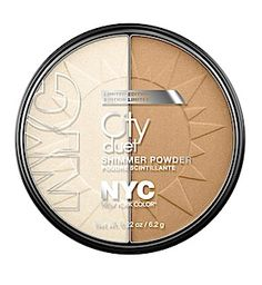 Amazingly cheap highlighter/bronzer duo from @NYC New York Color @Influenster loveee bronzer!