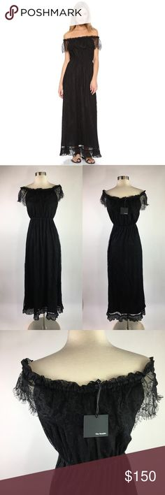 NWT The Kooples Bohemian Lace Maxi Dress Brand new never worn! XXS but can def fit XS as well! The waist is stretchy & comfortable. I am a Size 2/4 and it fit me when I tried it on. The Kooples Dresses Maxi