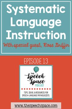 Have you ever had a non-verbal or minimally verbal student and not known where to begin? In this podcast episode, Rose Griffin from ABASpeech joins me to talk about systematic language instruction for non-verbal and minimally verbal students. Fluency Activities, Speech Therapy Activities, Language Activities, Speech Language Pathology, Speech And Language, Podcast Tips, Kindness Projects, Behavior Analyst, Therapy Ideas