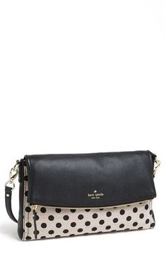 This must be my new clutch. kate spade new york 'carson' crossbody bag available at - bags leather sale, shoulder bags buy online, brown clutch bag *ad Kate Spade Handbags, Kate Spade Bag, Beautiful Bags, Handbag Accessories, Accessories Online, My Bags, Look Fashion, Purses And Handbags, Crossbody Bag
