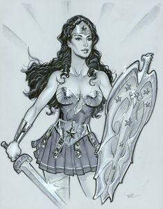 Amazon princess by MichaelDooney.deviantart.com on @DeviantArt