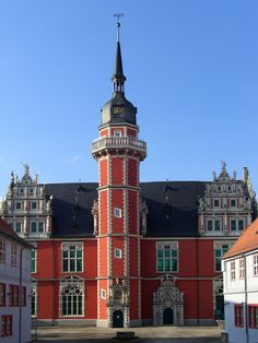 Juleum in Helmstedt, Germany - the great auditorium of the former University, built in Weser Renaissance style