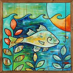 good ideas 4 watercolor  Google Image Result for http://www.ebsqart.com/Art/Gallery/Acrylic-on-canvas/684641/650/650/White-Perch-Bait.jpg