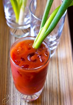 Asian Bloody Mary Recipe | ASpicyPerspective.com