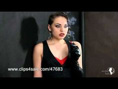 smoking fetish - nicotine ladies - Laura filterless