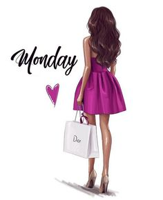 🌸 Hello Monday 🌸 Don't forget to reserve your dresses now for your next event.Dresses are getting booked! Illustration Mode, Fashion Illustration Sketches, Fashion Sketches, Illustrations, Moda Wallpaper, Moda Fashion, Girl Fashion, Megan Hess, Girly Drawings