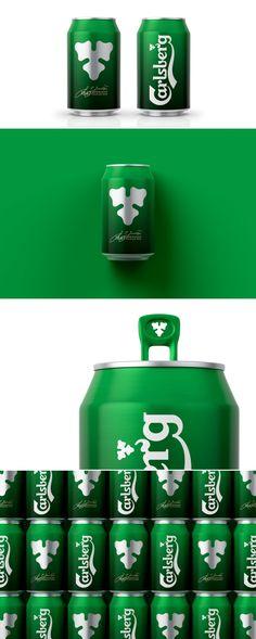 Carlsberg Germany Beer Can — The Dieline - Branding & Packaging Design