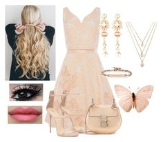 """""""Untitled #613"""" by jujuxx33 ❤ liked on Polyvore featuring Coast, Halo & Co., Chloé, Hoorsenbuhs and Forever 21"""