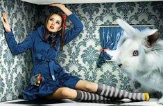 Wonderland Fashionista Shoots - 'Alice' from Momchil Hristov is Fashion-Focused (GALLERY)