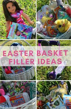 The best Easter basket filler ideas. Creative Easter basket ideas for kids. MomTrends.com #easter #easterbasket #easterforkids