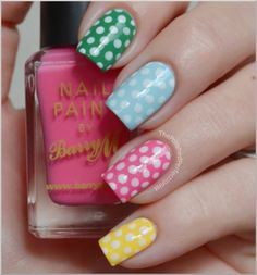 I could probably handle doing polka dots on my own nails....that's about it. Letzbehonest.