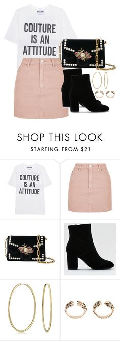 """Untitled #2044"" by h4nnahlouise ❤ liked on Polyvore featuring Moschino, Topshop, Proenza Schouler, American Eagle Outfitters and Bling Jewelry"