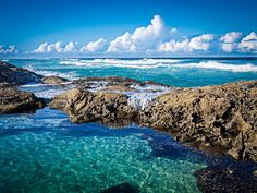 Champagne Pools Fraser Island by Micheal Lovett, via Flickr #fraserisland #queensland #australia www.fraserfree.com.au