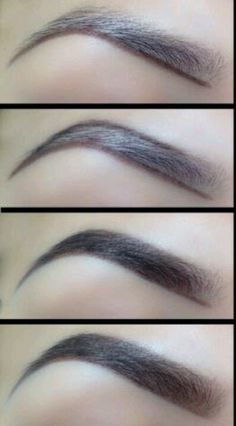 Like this eye brow shape! - for more beauty, makeup and nail art ideas and tips, go to www.sparkofallure.com